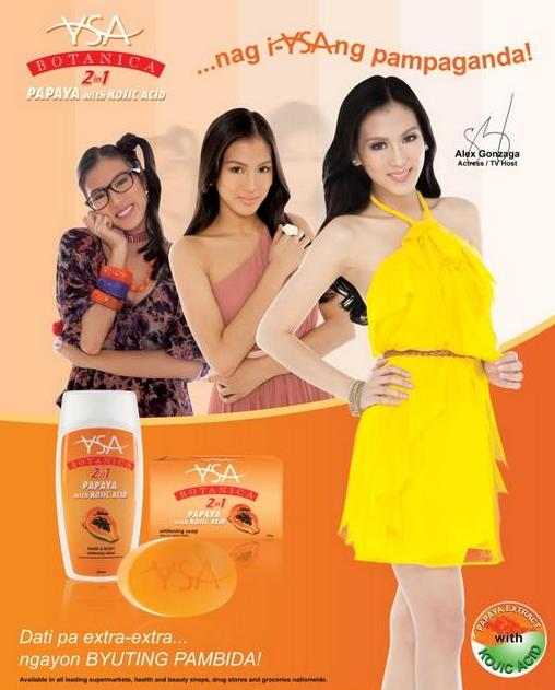 YSA Botanica 2-in-1 Papaya with Kojic Acid