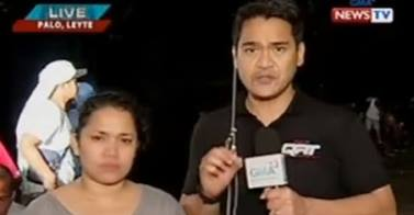 Love Anover and Jiggy Manicad Reports on Yolanda
