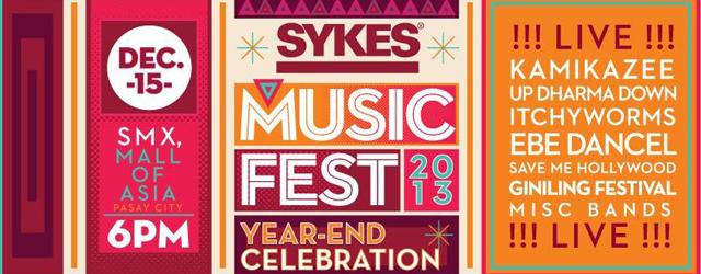 SYKES Music Fest 2013