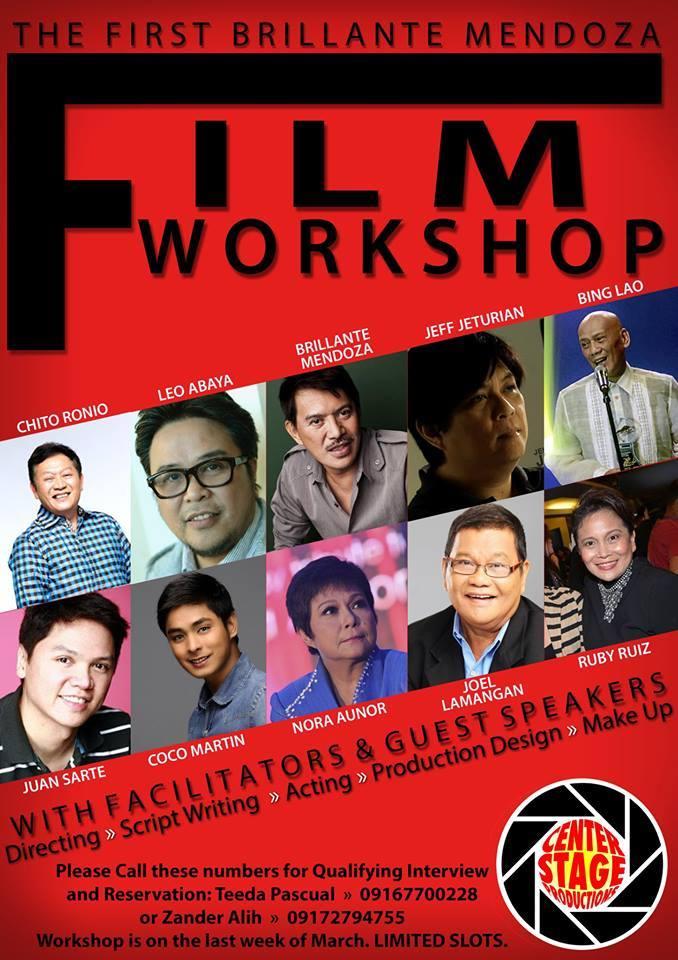 Brillante Mendoza Film Workshop
