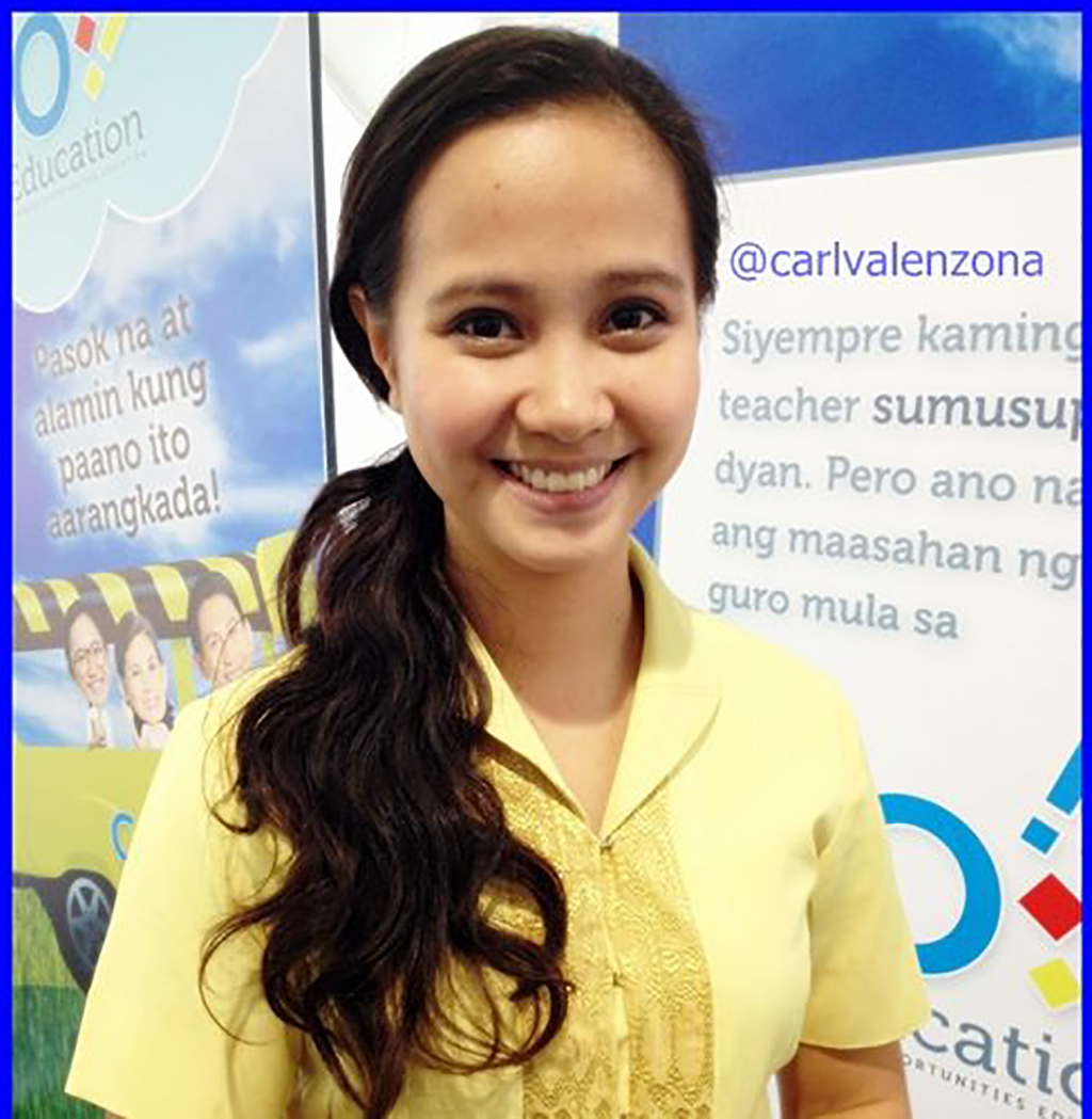 Teacher Sabrina Ongkiko