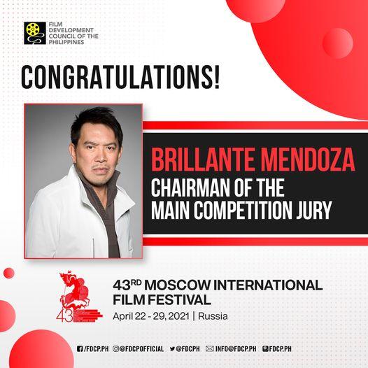 Brillante Mendoza as Jury President